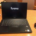 【10万円切りで0.99㎏!】iiyama STYLE-14FH056を購入!(dynabook R732からの乗換)